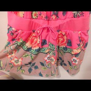Adidas Floral short Jumpsuit